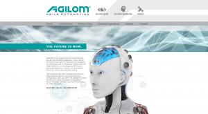 Homepage und Webdesign für Agilom