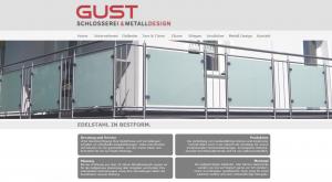 Webdesign für Gust Schlosserei