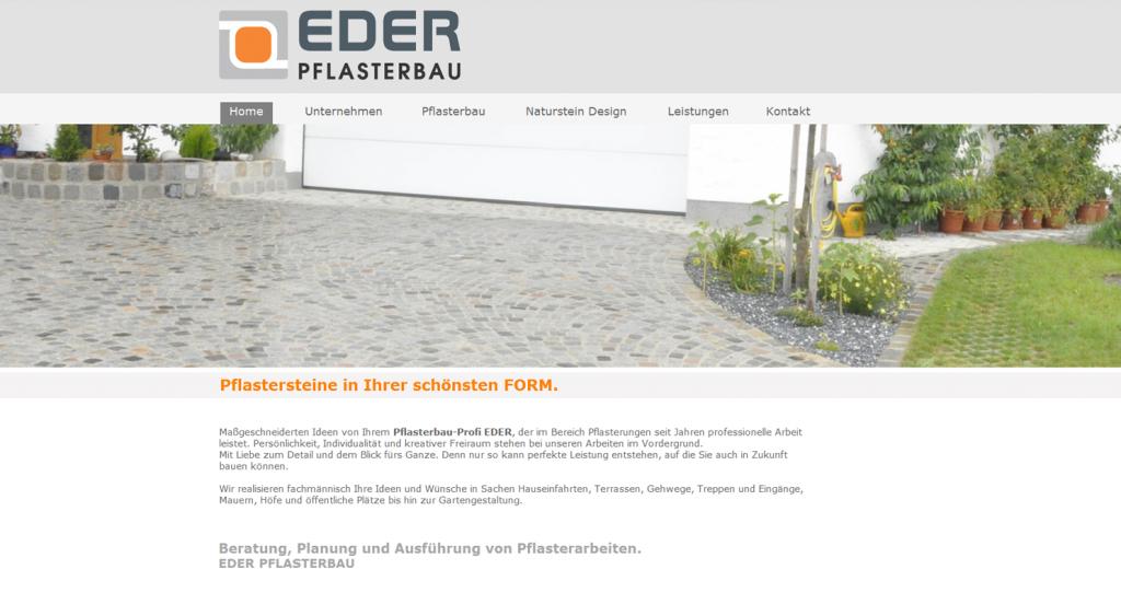 Homepage und Webseite von Exclusive Design, Ried, Aurolzmünster